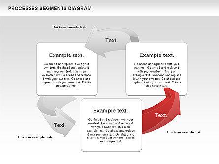 Process Segments Diagram, Slide 6, 00776, Process Diagrams — PoweredTemplate.com