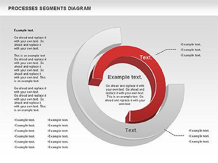 Process Segments Diagram, Slide 8, 00776, Process Diagrams — PoweredTemplate.com