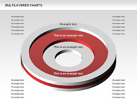 Multilayer Charts, Slide 3, 00779, Business Models — PoweredTemplate.com