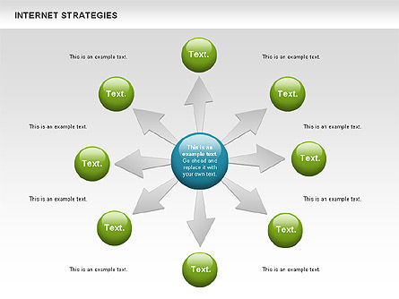 Strategy Diagram, Slide 2, 00782, Business Models — PoweredTemplate.com