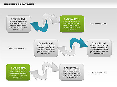 Strategy Diagram, Slide 4, 00782, Business Models — PoweredTemplate.com