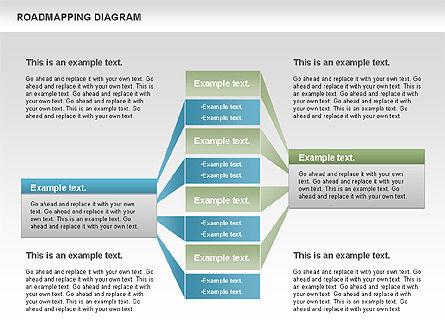 Roadmapping Diagram, Slide 11, 00783, Business Models — PoweredTemplate.com