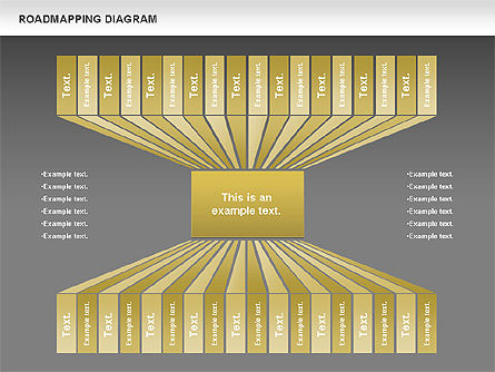Roadmapping Diagram, Slide 12, 00783, Business Models — PoweredTemplate.com