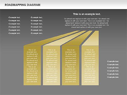 Roadmapping Diagram, Slide 16, 00783, Business Models — PoweredTemplate.com