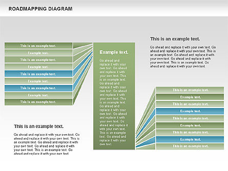 Roadmapping Diagram, Slide 2, 00783, Business Models — PoweredTemplate.com