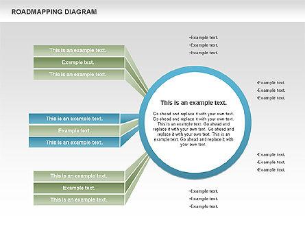 Roadmapping Diagram, Slide 4, 00783, Business Models — PoweredTemplate.com