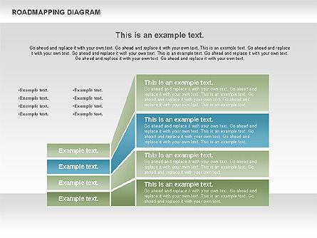 Roadmapping Diagram, Slide 7, 00783, Business Models — PoweredTemplate.com