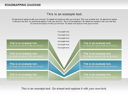 Roadmapping Diagram, Slide 8, 00783, Business Models — PoweredTemplate.com