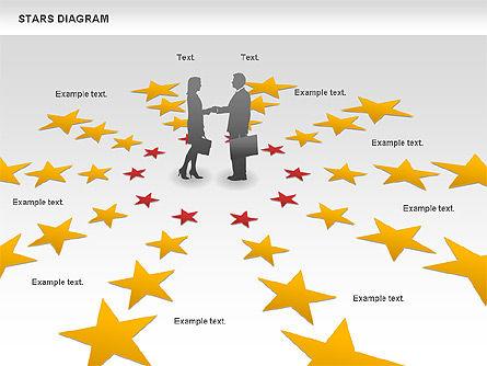 Stars and Silhouettes, Slide 9, 00784, Shapes — PoweredTemplate.com