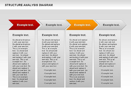 Structure Analysis Diagram, Slide 2, 00787, Business Models — PoweredTemplate.com