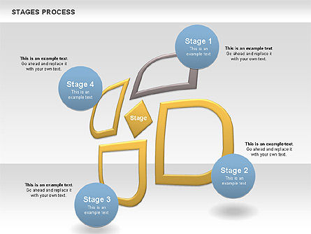 Process Diagrams: Stages Process Diagram #00790