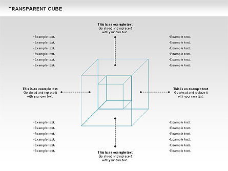 Transparent Cubes Diagram, Slide 2, 00791, Business Models — PoweredTemplate.com