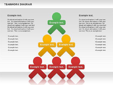 Teamwork Diagram, Slide 5, 00792, Business Models — PoweredTemplate.com