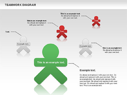 Teamwork Diagram, Slide 7, 00792, Business Models — PoweredTemplate.com