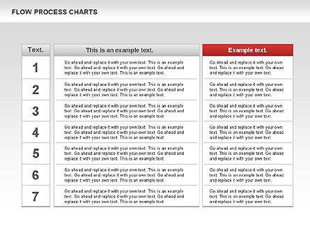 Process Flowchart, Slide 2, 00794, Flow Charts — PoweredTemplate.com