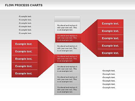 Process Flowchart, Slide 3, 00794, Flow Charts — PoweredTemplate.com