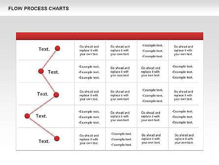 Process Flowchart, Slide 4, 00794, Flow Charts — PoweredTemplate.com