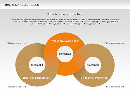 Overlapping Circles Shapes