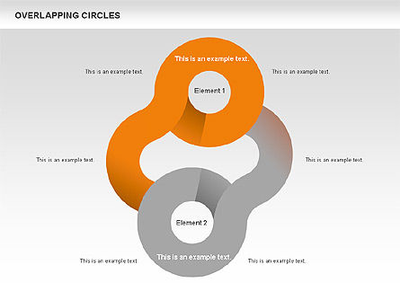 Overlapping Circles Shapes Slide 3