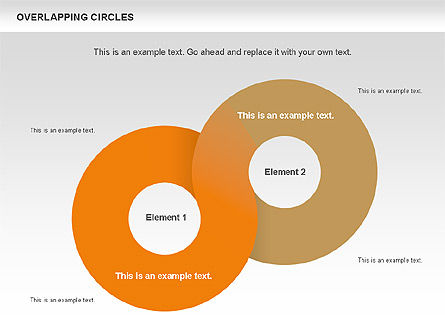 Overlapping Circles Shapes Slide 4