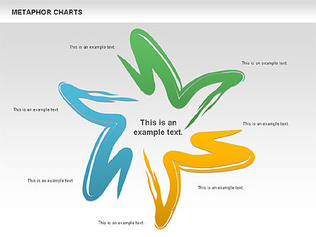 Metaphor Charts, 00798, Shapes — PoweredTemplate.com