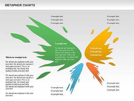 Metaphor Charts, Slide 2, 00798, Shapes — PoweredTemplate.com