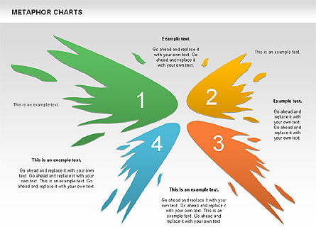 Metaphor Charts, Slide 4, 00798, Shapes — PoweredTemplate.com