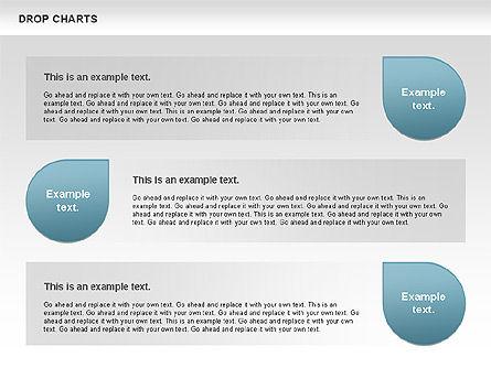 Free Water Drop Shapes Chart, Slide 2, 00799, Business Models — PoweredTemplate.com