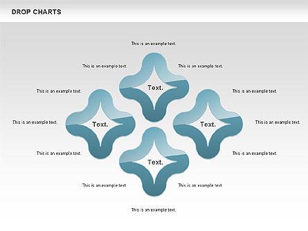 Free Water Drop Shapes Chart, Slide 4, 00799, Business Models — PoweredTemplate.com