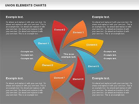 Union Elements Charts, Slide 12, 00801, Business Models — PoweredTemplate.com