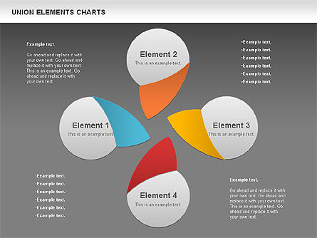 Union Elements Charts, Slide 13, 00801, Business Models — PoweredTemplate.com