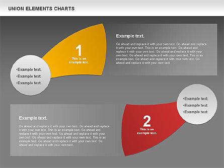 Union Elements Charts, Slide 14, 00801, Business Models — PoweredTemplate.com