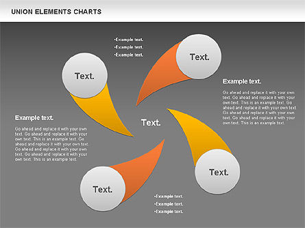 Union Elements Charts, Slide 15, 00801, Business Models — PoweredTemplate.com