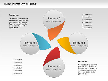 Union Elements Charts, Slide 2, 00801, Business Models — PoweredTemplate.com
