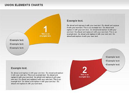 Union Elements Charts, Slide 3, 00801, Business Models — PoweredTemplate.com