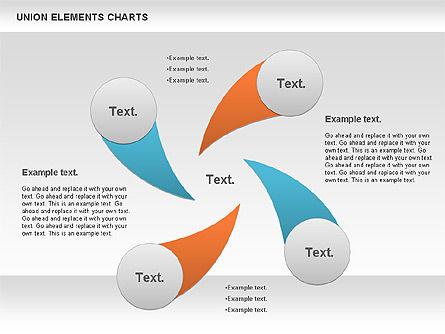 Union Elements Charts, Slide 4, 00801, Business Models — PoweredTemplate.com