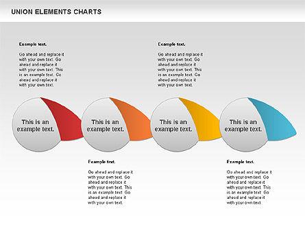 Union Elements Charts, Slide 5, 00801, Business Models — PoweredTemplate.com