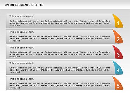 Union Elements Charts, Slide 6, 00801, Business Models — PoweredTemplate.com