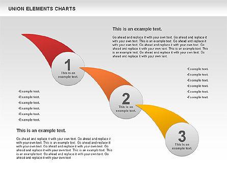 Union Elements Charts, Slide 8, 00801, Business Models — PoweredTemplate.com