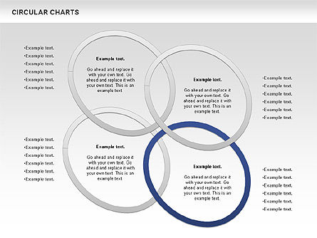 Business Models: Circular Charts #00803