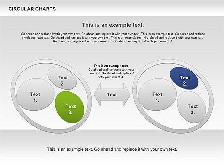 Circular Charts, Slide 10, 00803, Business Models — PoweredTemplate.com