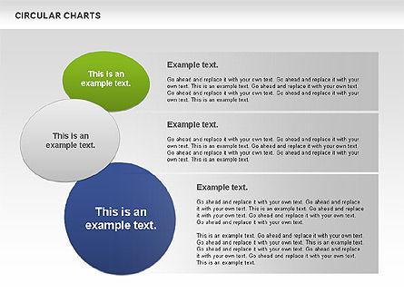 Circular Charts, Slide 11, 00803, Business Models — PoweredTemplate.com