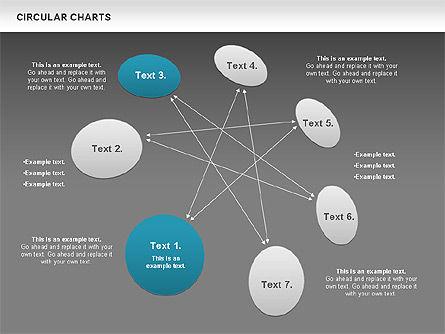 Circular Charts, Slide 13, 00803, Business Models — PoweredTemplate.com