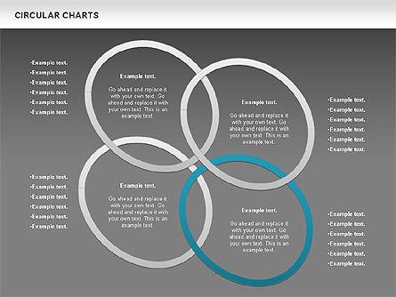 Circular Charts, Slide 15, 00803, Business Models — PoweredTemplate.com
