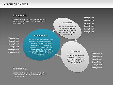 Circular Charts, Slide 16, 00803, Business Models — PoweredTemplate.com