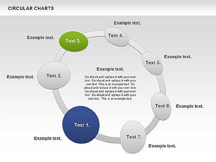 Circular Charts, Slide 5, 00803, Business Models — PoweredTemplate.com