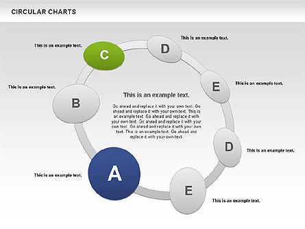 Circular Charts, Slide 6, 00803, Business Models — PoweredTemplate.com