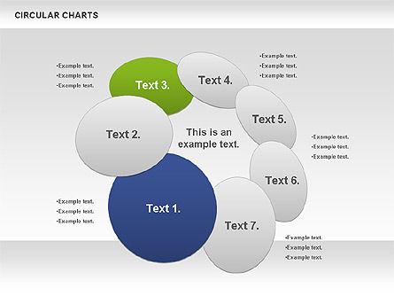 Circular Charts, Slide 8, 00803, Business Models — PoweredTemplate.com