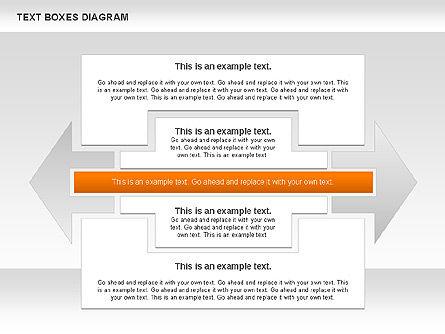Text Boxes Process Collection, Slide 11, 00804, Text Boxes — PoweredTemplate.com