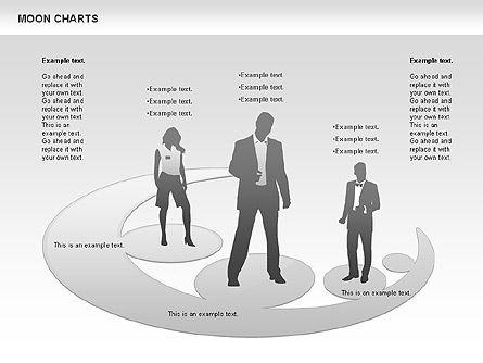Moon Chart, Slide 4, 00805, Business Models — PoweredTemplate.com